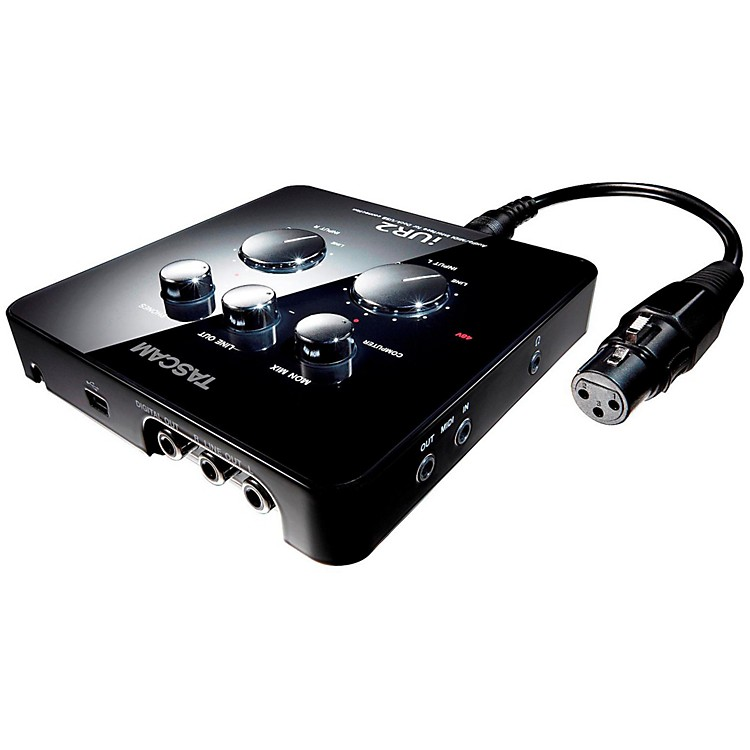 Tascam iUR2 USB Audio/MIDI Interface for iPad, Mac and PC  888365773834