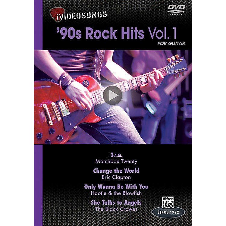 Alfred iVideosongs '90s Rock Hits Vol. 1 DVD