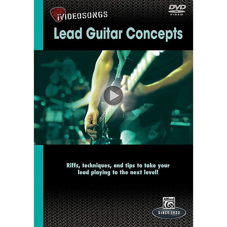 AlfrediVideosongs Lead Guitar Concepts DVD