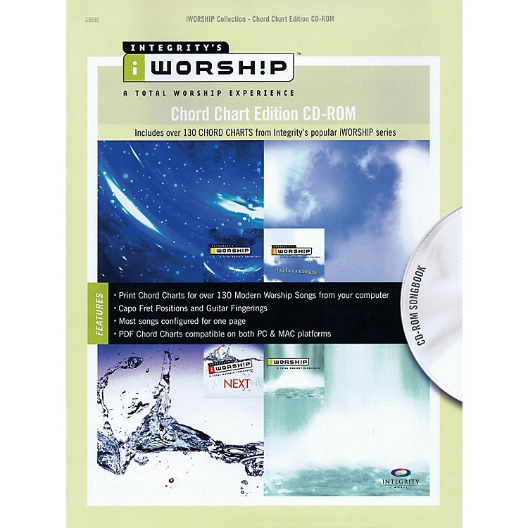 Integrity Music iWorship - Chord Chart Edition CD-ROM Integrity Series CD-ROM Performed by Various