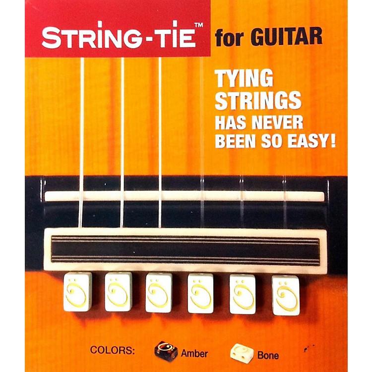 String-tiein Pearl White