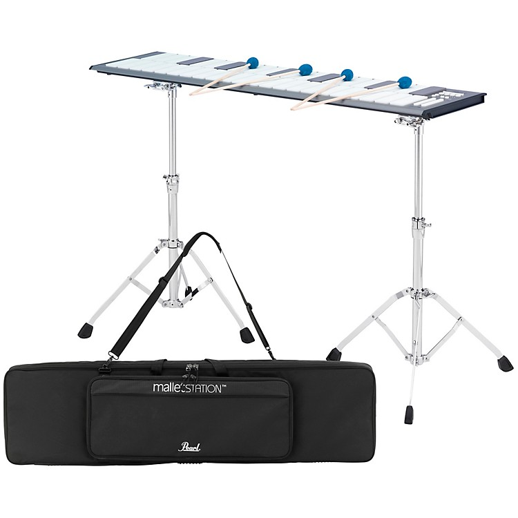 PearlmalletSTATION 3.0 Octave Adjustable Range Electronic Mallet Controller with Bag, Stands, and Mounts