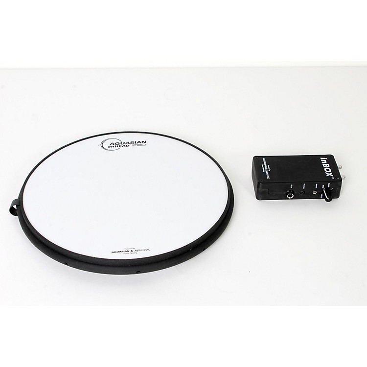 AquarianonHEAD Portable Electronic Drumsurface Bundle Pak12 in.888365838441