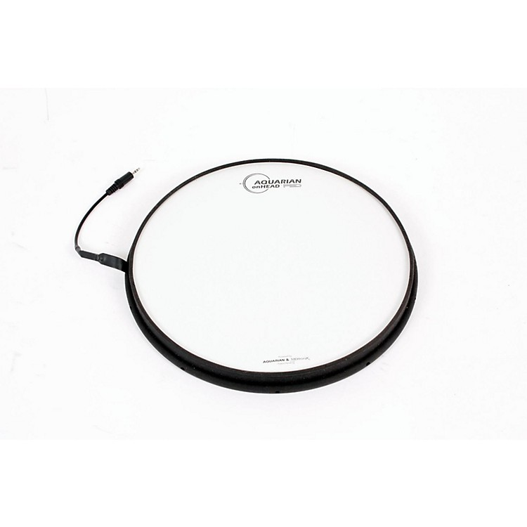 AquarianonHEAD Portable Electronic Drumsurface Bundle Pak13 in.888365044859
