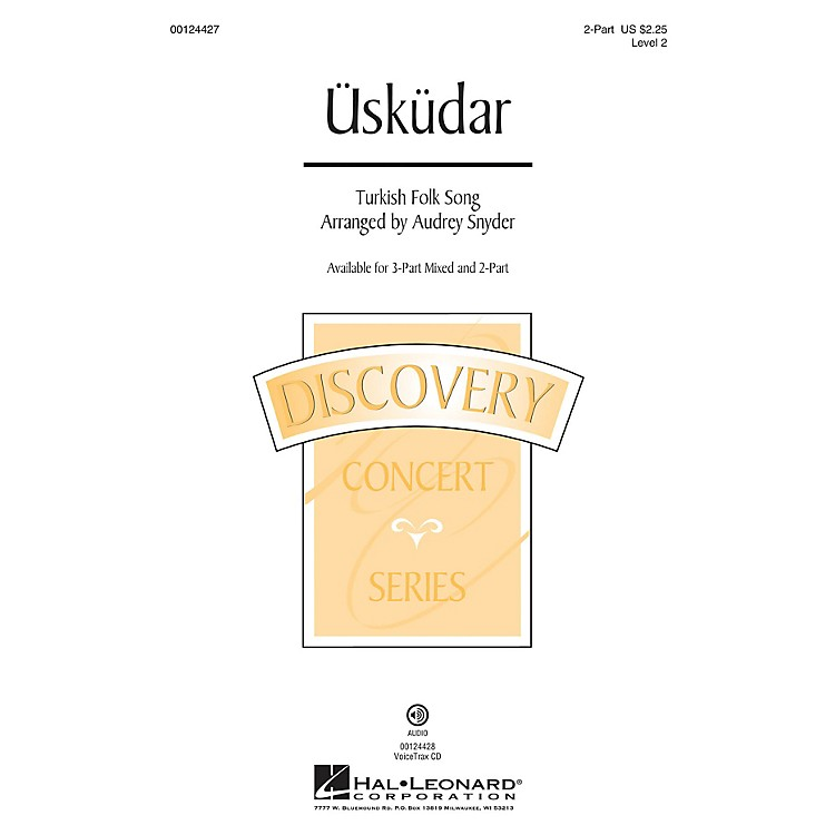 Hal LeonardÜsküdar (Discovery Level 2) 2-Part arranged by Audrey Snyder